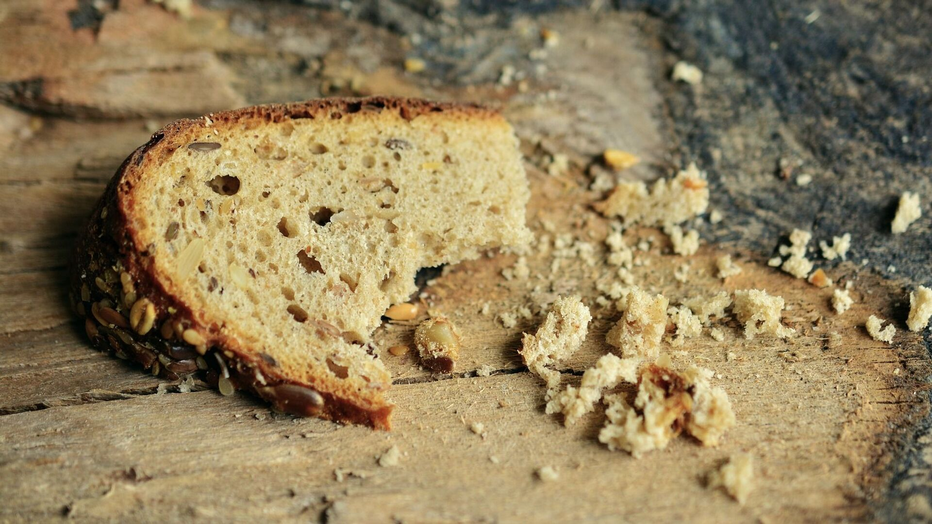 Un pedazo de pan (imagen referencial) - Sputnik Mundo, 1920, 12.07.2021
