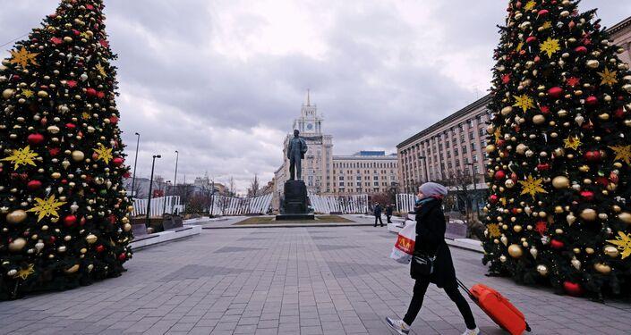 Invierno sin nieve en Moscú