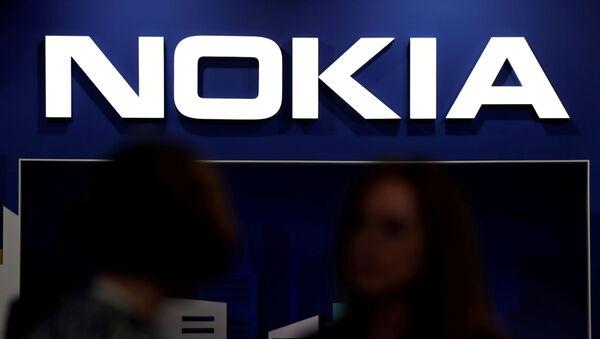 El logo de Nokia - Sputnik Mundo