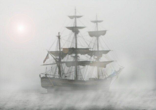 Un velero antiguo (imagen referencial)