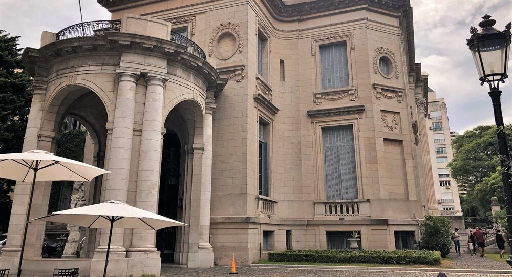 El Museo Nacional de Arte Decorativo se emplaza en el Palacio Errázuriz Alvear