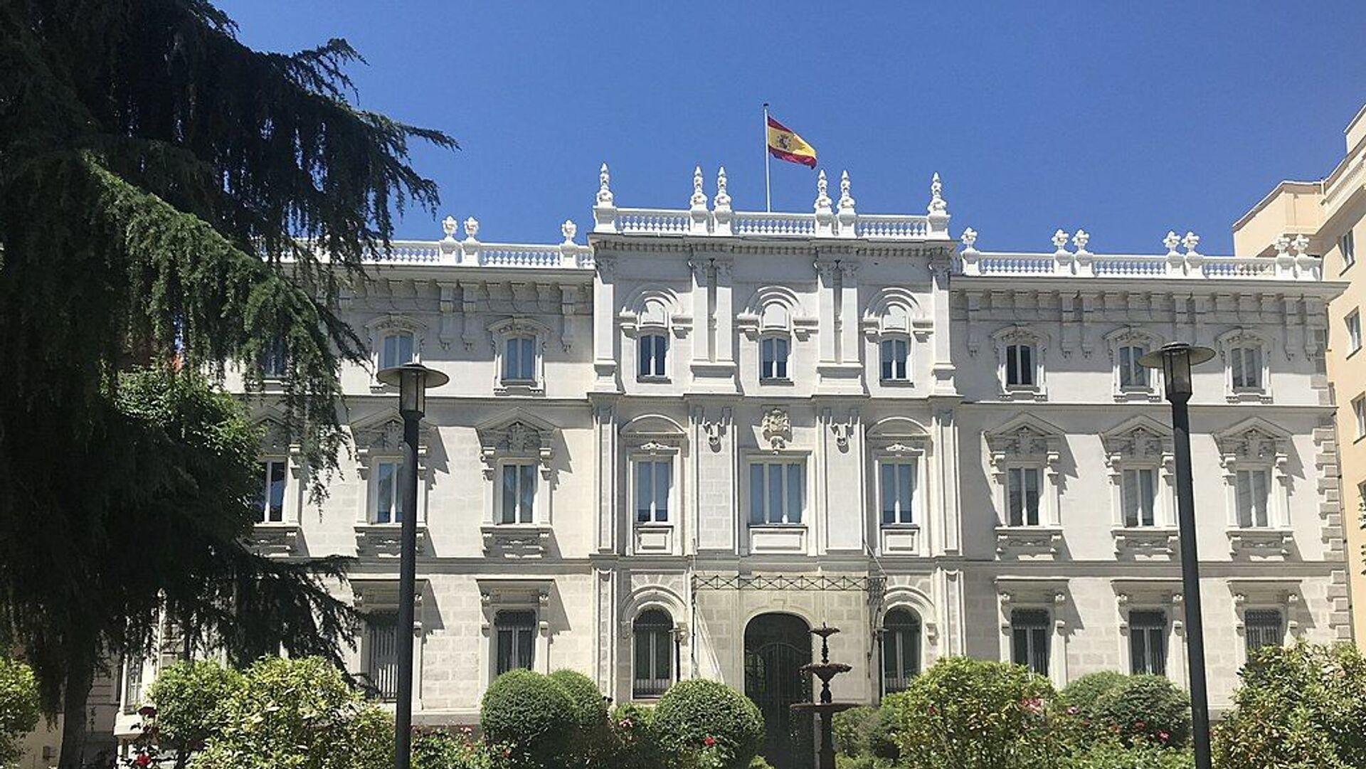 Palacio del Marqués de Fontalba, la sede de la Fiscalía General de España - Sputnik Mundo, 1920, 03.03.2021