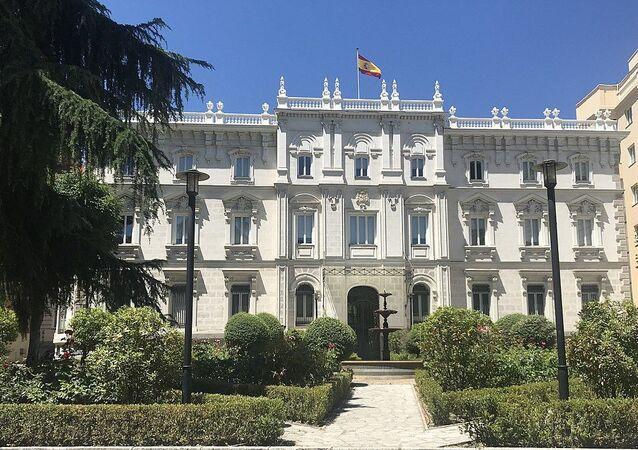 Palacio del Marqués de Fontalba, la sede de la Fiscalía General de España