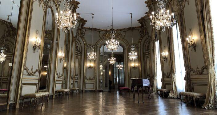 Salón de Baile del Museo Nacional de Arte Decorativo