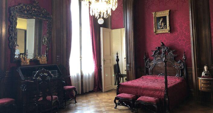 Dormitorio y sala de baño de Matías Errázuriz Ortúzar
