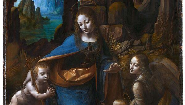 La Virgen de Las Rocas de Leonardo da Vinci - Sputnik Mundo