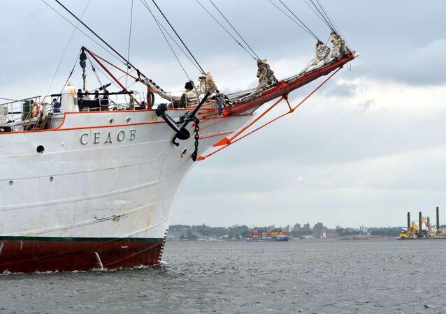 El velero ruso Sedov