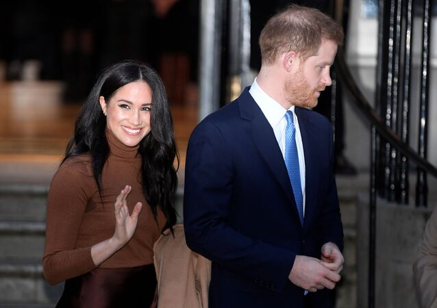 Meghan Markle y Harry exduques de Sussex