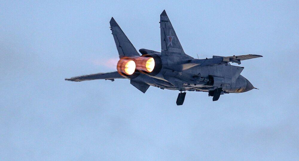 Un MiG-31 ruso (archivo)