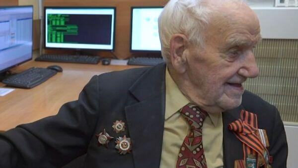 Víktor Volchkovich, veterano de la Segunda Guerra Mundial, combatiente del Ejército Rojo de la URSS - Sputnik Mundo