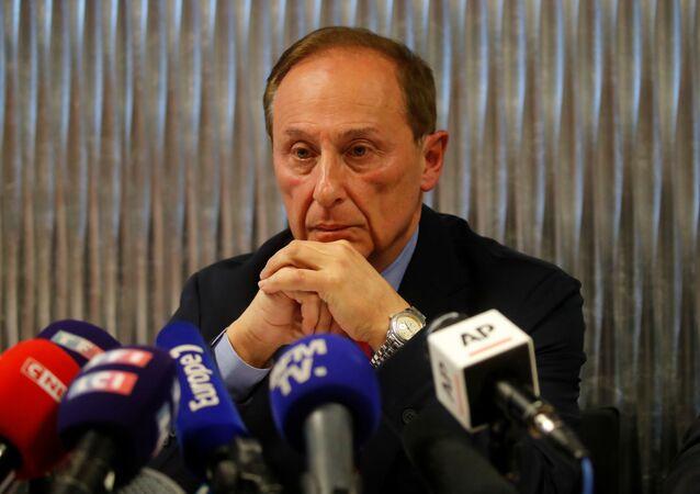 Didier Gailhaguet, jefe de la Federación francesa de Patinaje