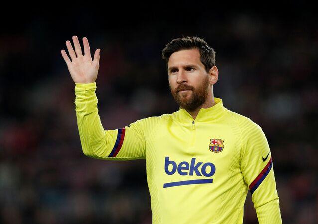 El futbolista Lionel Messi