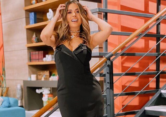 Galilea Montijo, presentadora de televisión mexicana