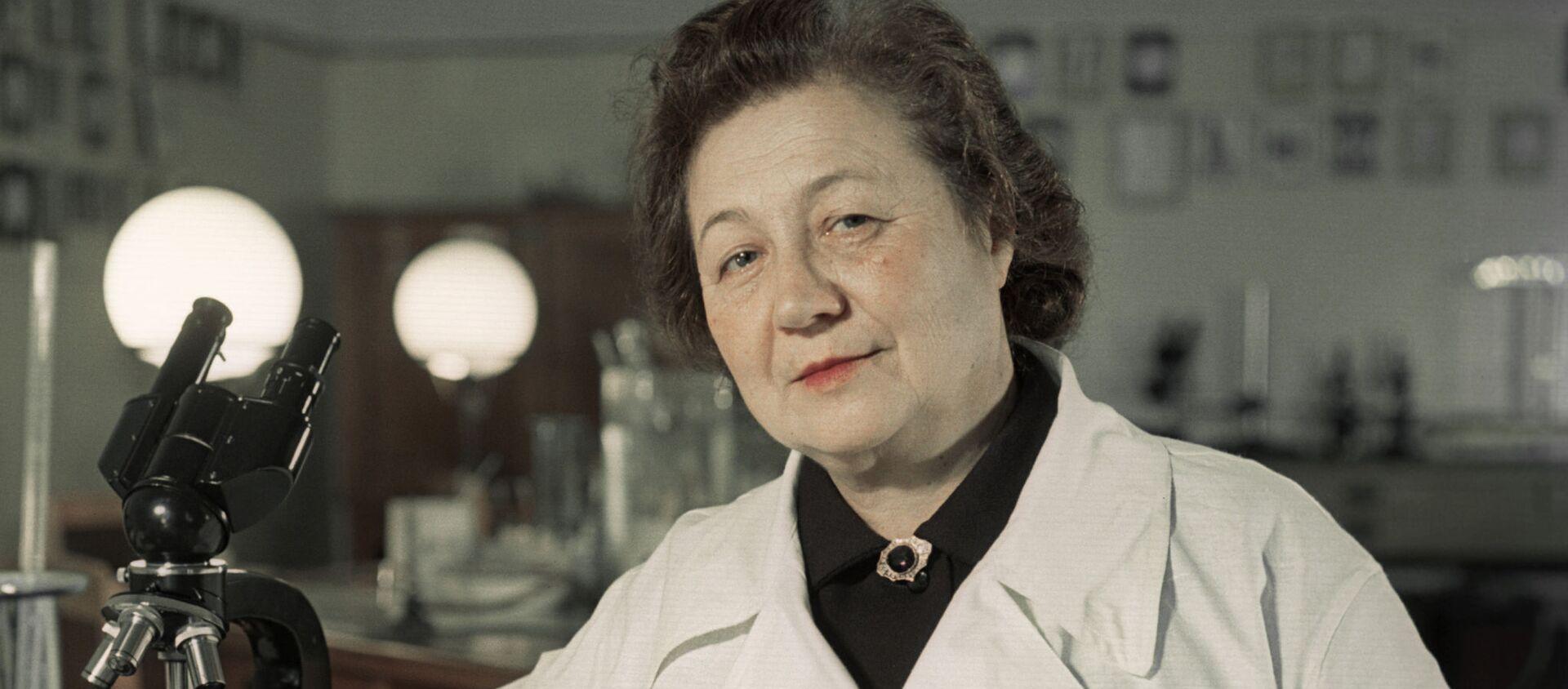 Zinaída Iermólieva, médica soviética especializada en microbiología y epidemiología - Sputnik Mundo, 1920, 11.02.2020