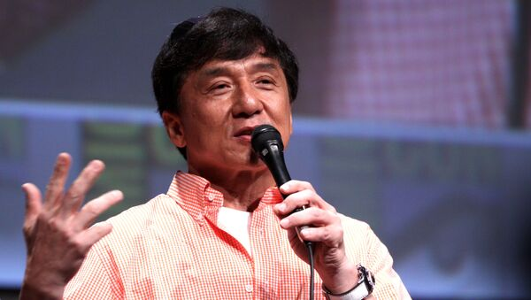 El actor Jackie Chan - Sputnik Mundo