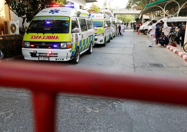Ambulancia en Tailandia (archivo)