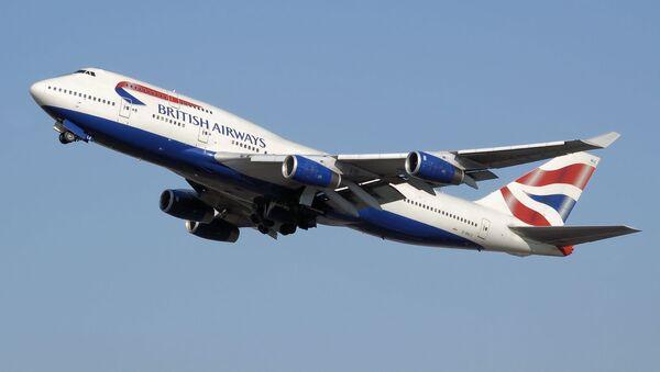 Un Boeing 747-400 de British Airways - Sputnik Mundo