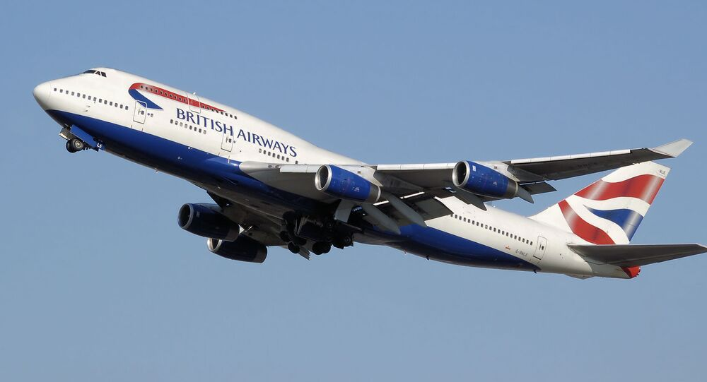 Un Boeing 747-400 de British Airways
