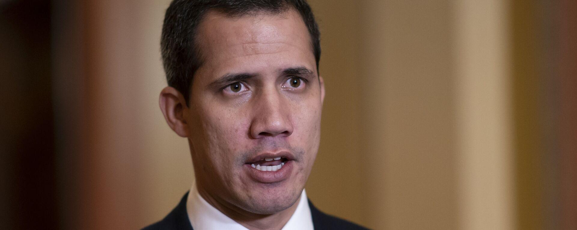 Juan Guaidó, líder de la oposición venezolana - Sputnik Mundo, 1920, 11.05.2021