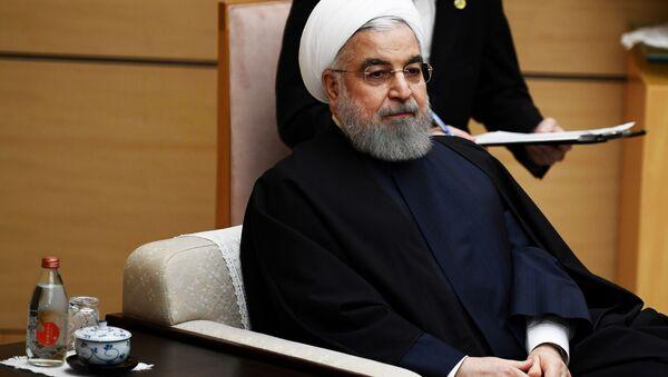 Hasán Rohaní, presidente iraní - Sputnik Mundo