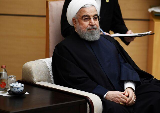 Hasán Rohaní, presidente iraní