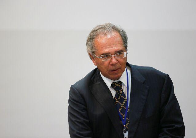 Paulo Guedes, el ministro de Economía de Brasil
