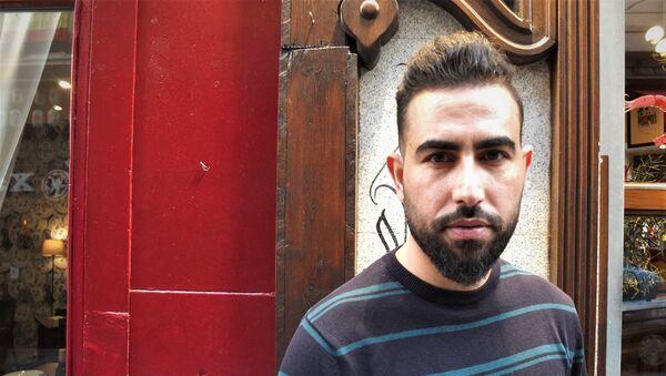 Mohammed Subat el periodista sirio - Sputnik Mundo