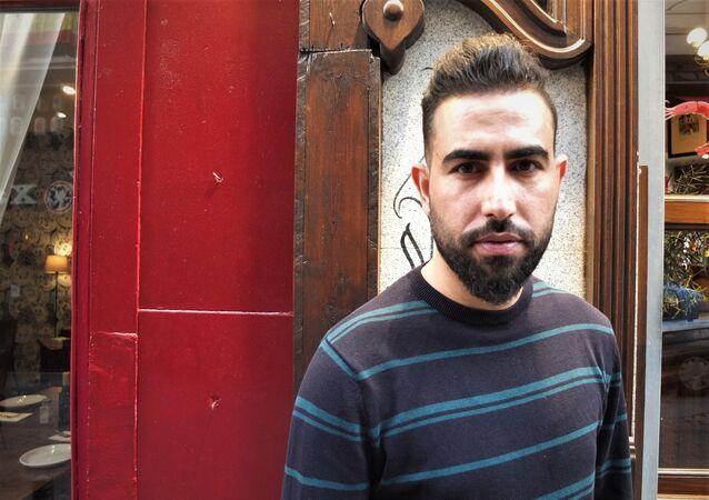 Mohammed Subat, el periodista sirio