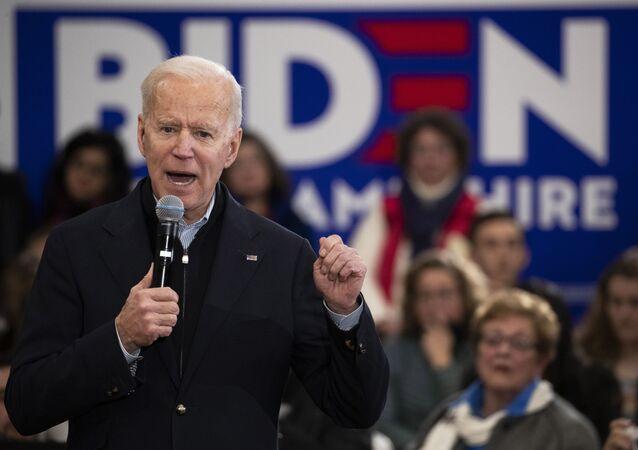 El exvicepresidente y candidato demócrata a la Presidencia de EEUU Joe Biden