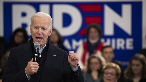 El exvicepresidente y candidato demócrata a la Presidencia de EEUU Joe Biden - Sputnik Mundo