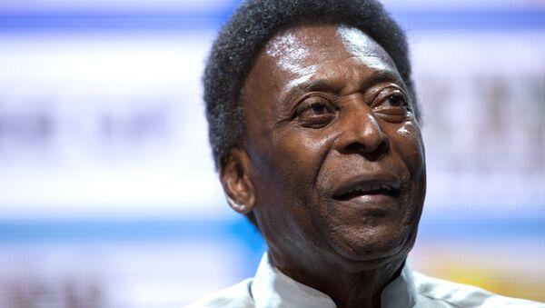 Edson Arantes do Nascimento, 'Pelé', futbolista brasileño  - Sputnik Mundo