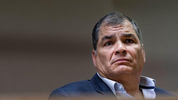 Rafael Correa, expresidente ecuatoriano (archivo) - Sputnik Mundo