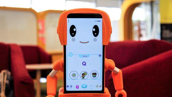 SIMA, el primer robot social educativo hecho en América Latina - Sputnik Mundo