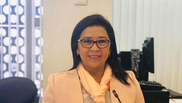 Karina Arteaga, legisladora oficialista ecuatoriana - Sputnik Mundo