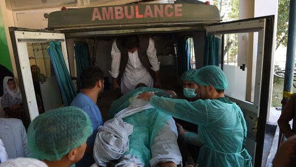 Una ambulancia en Kabul, Afganistán - Sputnik Mundo