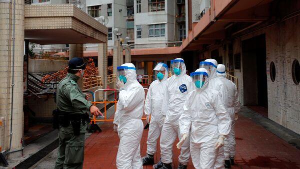 La lucha contra el coronavirus - Sputnik Mundo