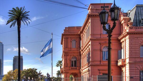 La Casa Rosada, sede de Gobierno argentino - Sputnik Mundo