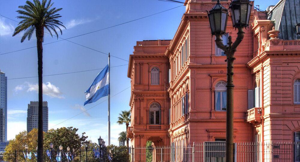 La Casa Rosada, sede de Gobierno argentino