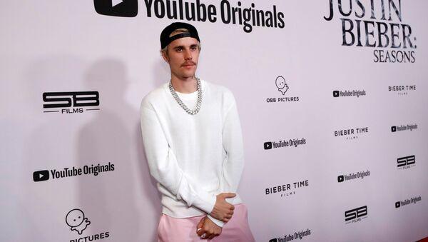 El cantante canadiense Juntin Bieber - Sputnik Mundo