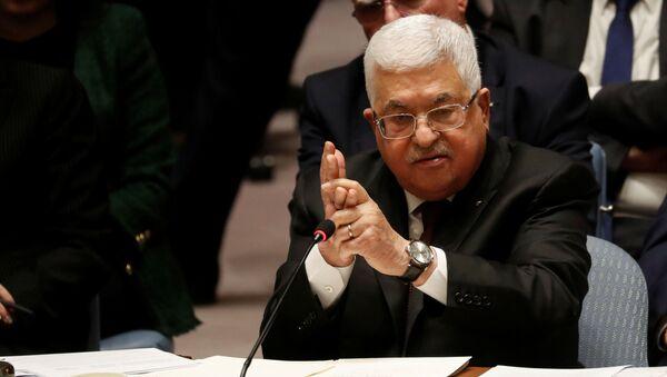 Mahmud Abás, el presidente palestino - Sputnik Mundo