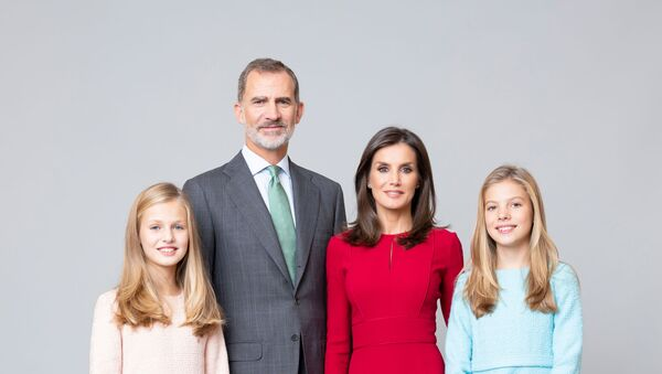 La familia real española - Sputnik Mundo