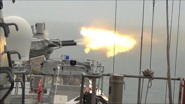 Rusia pone a prueba la nueva fragata Almirante Kasatonov | Vídeo - Sputnik Mundo