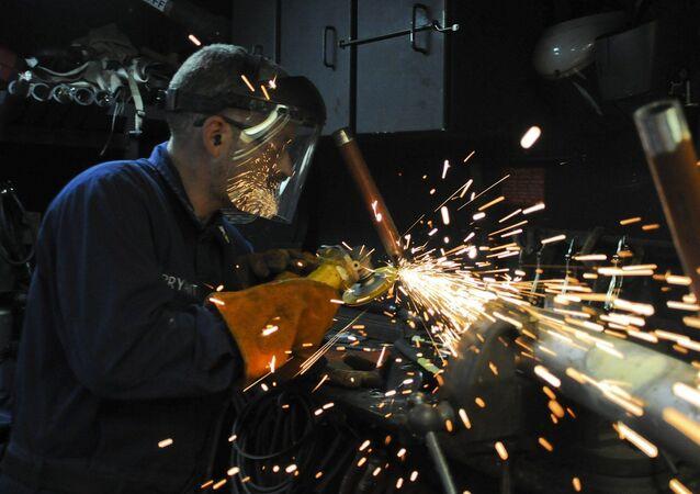 Un trabajador (imagen referencial)