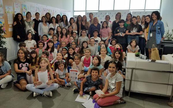 Actividad por el Día Internacional de la Mujer y la Niña en la Ciencia, en el Institut Pasteur de Montevideo - Sputnik Mundo