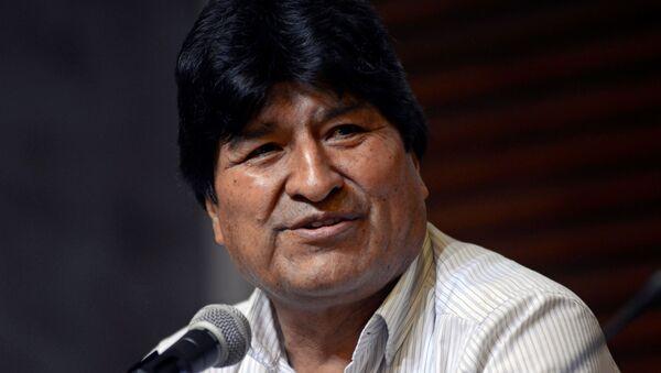 Evo Morales, expresidentede Bolivia - Sputnik Mundo