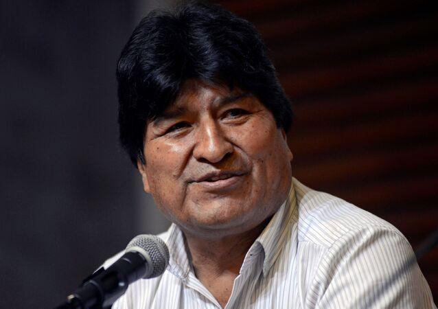 Evo Morales, expresidentede Bolivia