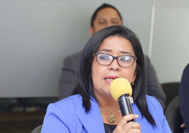 Karina Arteaga, legisladora oficialista ecuatoriana