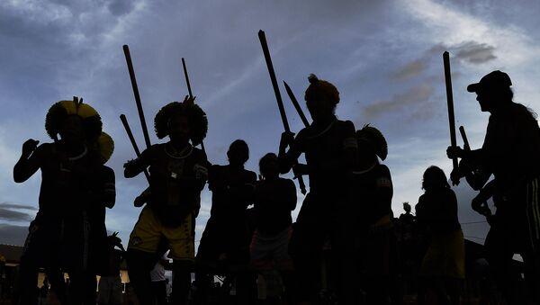 Indígenas brasileños  - Sputnik Mundo
