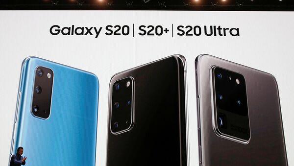 Presentación de los teléfonos Samsung Galaxy S20, S20+ y S20 Ultra en San Francisco, EEUU - Sputnik Mundo