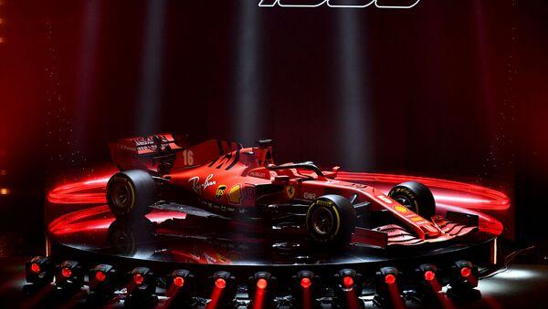 Presentación del Ferrari SF1000  - Sputnik Mundo